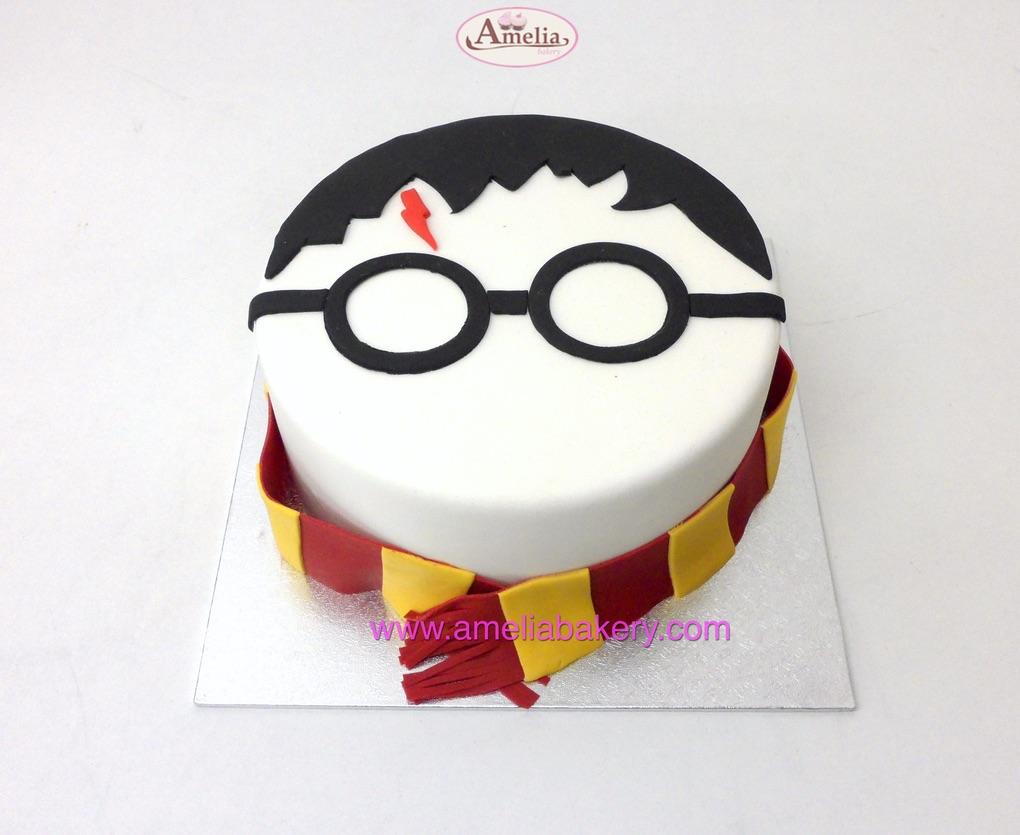 Tarta Fondant Harry Potter