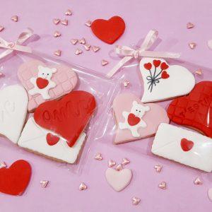 Galletas de San Valentín (Pack de 4 unidades)